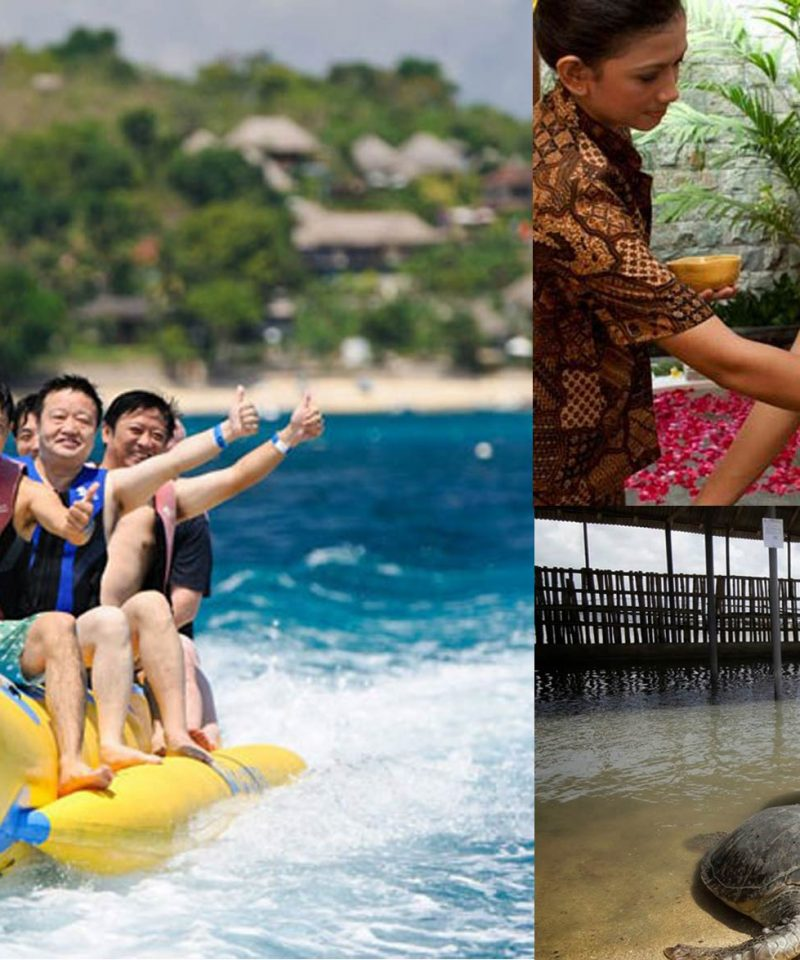 bali watersports spa package