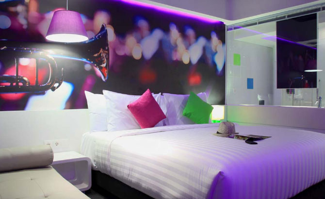 berry glee hotel - superior room