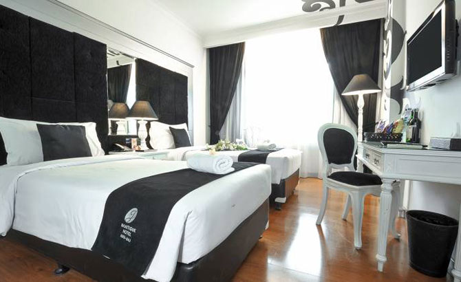 j boutique hotel kuta - superior room